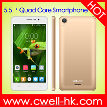 Hotsale Unlocked cell phone Note B2 5.5 Inch IPS Touch Screen Quad Core 3200mAh Big Battery mobile phone