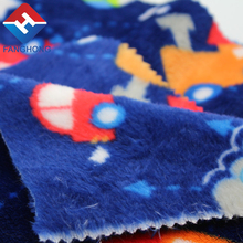 China manufacturer polyester foldable blanket pillow flannel knit fabric fleece 100% for wholesale
