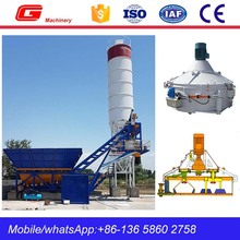 Automatic portable Mobile Concrete Batcher Plant Cost with Silo (YHZS40)