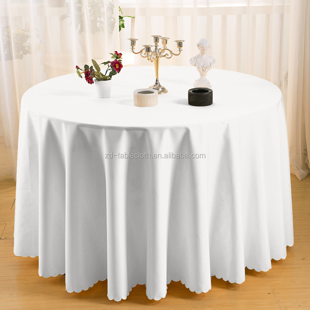 Factory Wholesale Hotel 108u0026quot; Round Table Cloth/table ...
