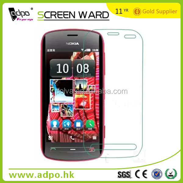 high quality tempered glass screen protective film for nokia 808