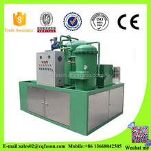 CE certified Fabric-free transformer oil filtration machine