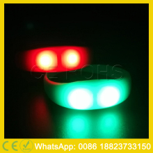 Music concerts fashion silicone light up wristband