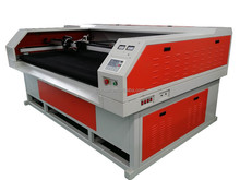 Double laser head 1000*600mm 1250*700mm/1400*700mm/1800*1000mm CO2 laser cutting machines