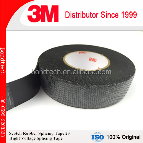 3M Scotch 23 Electrical insulating tape, self-fusing EPR based, high voltage splicing