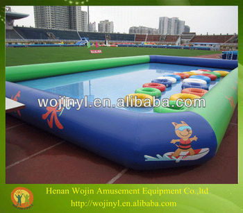 Large Square Inflatable Pools For Adults And Children Best Selling Inflatable Swimming Pool