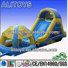 big pool giant commercial inflatable water slide for sale