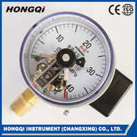 Capsule Electrical Control Pressure Gauge with Magnetic-aid Electrical Contact