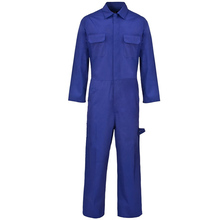 Blue colour FR Flame retardant protective clothing for industrial welding Fire resistant overalls