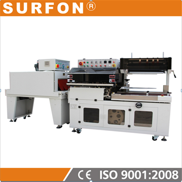 L Sealer and Shrink Pack Machine for small boxes