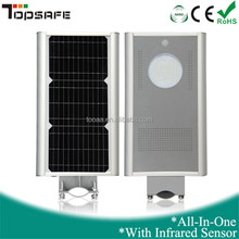 10W outdoor integrated solar led street light