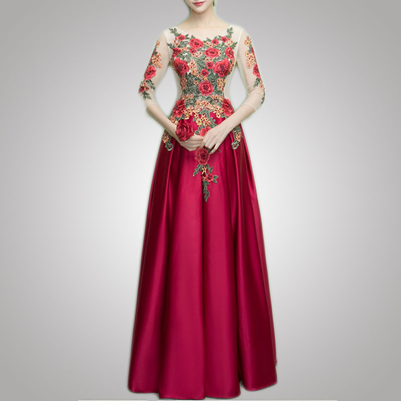 Fashion Korean Top Seller Classical Design Wedding Dress For Special Occasion