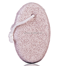 Beauty Oval Pumice Stone with Tie - Large
