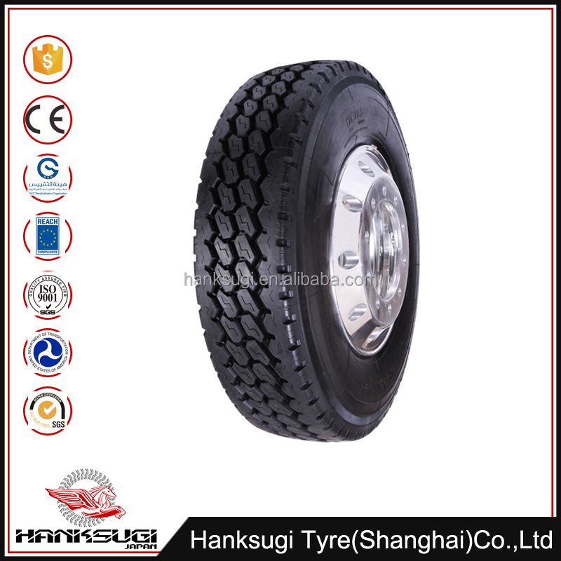 12R22.5 Competitive Price radial truck tyre tread pattern types