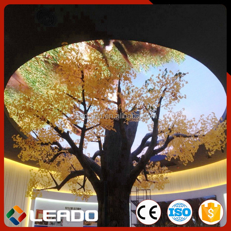 New Nice looking full color p10 wall mounted led screen