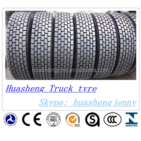 Radial truck tyres 295/80r22.5 used for transport vehicles