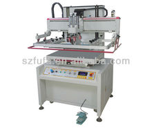One color flat bed screen printing machine/Automatic flat bed screen printing machine