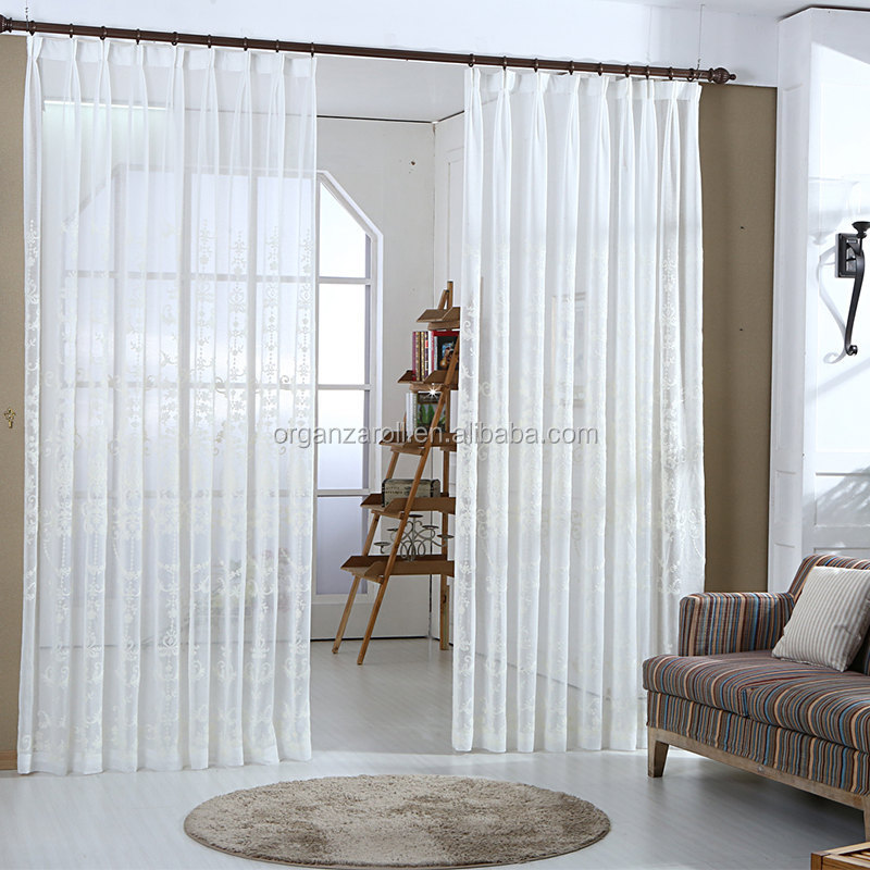 2015 High Quality Living Room Partition Hotel Room Curtain
