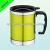double wall beer stein with pp handle and lid