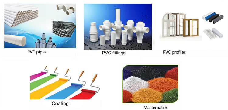 pe wax used as PVC External Lubricant in pvc pipes/window profile/foam board/masterbatch