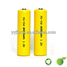NiCd Rechargeable battery ni-cd battery pack aa 800mah 9.6v nicd battery pack