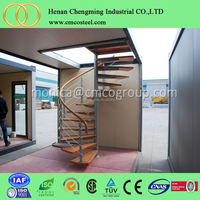 low cost new building material and insulated prefab houses made in china