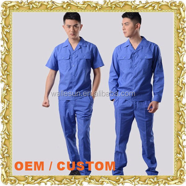 Custom logo worker wear work clothing roadway used work clothes for men