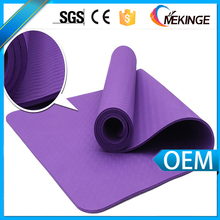 inflated Foam 100%TPE yoga mat manufacturer machine washable