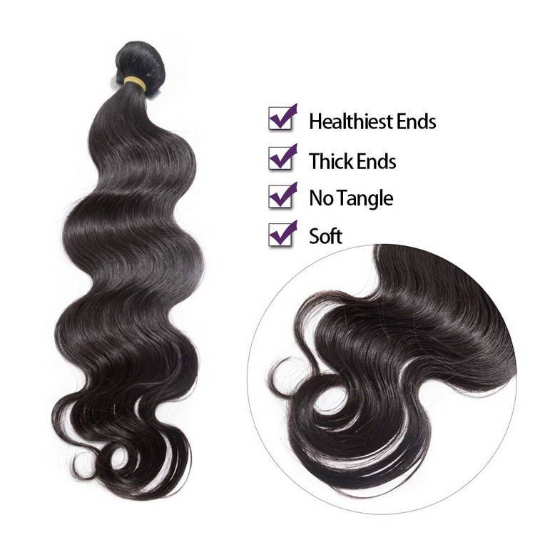 Real Tangle Free 8 inch Body Wave Brazilian Virgin Human Hair Weave Weft Extensions Dallas Texas