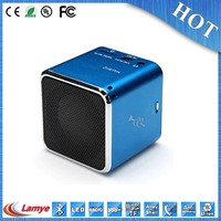 small size big sound cube karaoke mount speaker