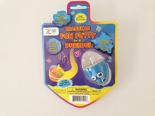2015 lovely new funny bouncing putty, bouncing putty in a dreidel