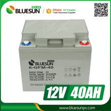 Bluesun deep cycle 12v 40ah 50ah gel cell battery for electric toy car
