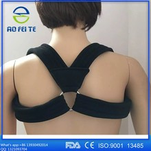 Upper Back Posture Corrector Brace And Clavicle Support For Fractures, Sprains, And Shoulders