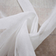 Best price different colors European wedding decor organza sheer curtain fabric for home textile