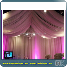 wedding backdrops/indian wedding stages decorations/white fiber wedding mandap decoration