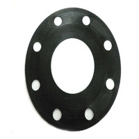 DN80 rubber gasket for pipe flange fitting