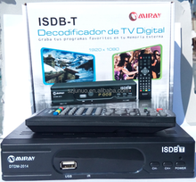 isdb-t decodificador de tv digital