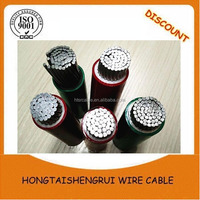 aluminum armored cable single electrical power cable 1*25 sq mm 2-2-4 aluminum wire