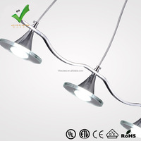 Best sales simplicity fashional decorative led pendant light HTD-PLC029A-3H hot
