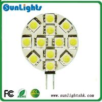 2 years low voltage DC12v G4 led lamp energy saving led light SMD5050 led bulb