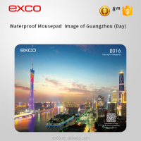 EXCO Custom promotional thin waterproof non-slip heated photo insert plat mouse pad