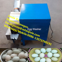 2000 pcs per hour egg washing machine egg cleaning machine for chicken duck goose eggs