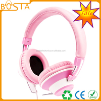 Super bass new design stereo professional coloured popular dj headphones pro