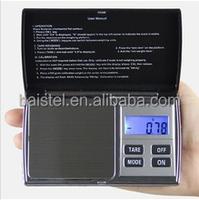 Mini 300g X 0.01g Digital Jewelry Pocket Gram Scale with 2 Pcs1.5 V Aaa Batteries