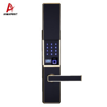 High-end house security system scanner sensor password electronic digital smart home APP control fingerprint door lock