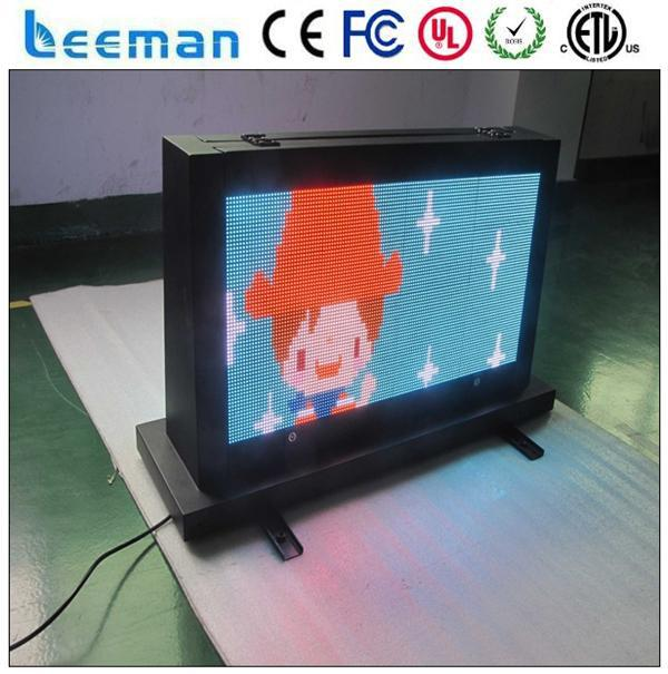 full color rgb led screen module p10 advertising food signs
