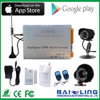 Strong Singnal Business/ Industry/Home Guard GSM/GPRS Camera MMS Alarm System