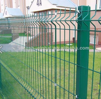 Hot Sale PVC Coating Curvy Welded Fencing
