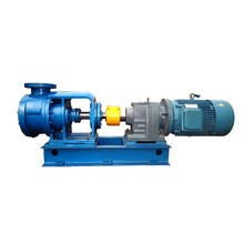 Horizontal electric motor driven oil transfer gear pump for polyurethane