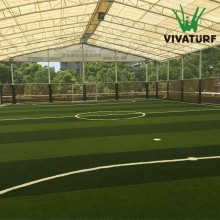 VIVATURF mini soccer field Indoor fustal turf no infill artificial grass